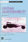 Systems Maintainability 1st edition 9780412802706 0412802708