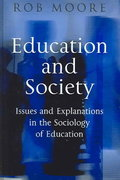Education and Society 1st edition 9780745617084 0745617085