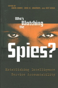 Who's Watching the Spies? 0 9781574888973 1574888978