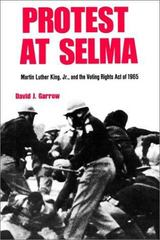 Protest at Selma 1st Edition 9780300024982 0300024983
