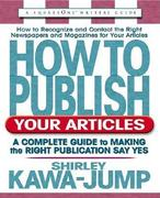 How to Publish Your Articles 0 9780757000164 0757000169