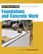 Foundations and Concrete Work 2nd edition 9781561589906 156158990X