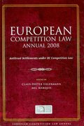 European Competition Law Annual 2008 2008th edition 9781841139586 1841139580