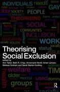 Theorising Social Exclusion 0 9781135285180 1135285187