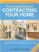 The Complete Guide to Contracting Your Home 4th edition 9781558708716 1558708715