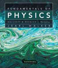 Fundamentals of Physics Extended 9th edition 9780470469088 0470469080