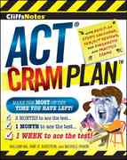CliffsNotes ACT Cram Plan 1st edition 9780470471739 0470471735