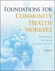 Foundations for Community Health Workers 1st Edition 9780470179970 047017997X