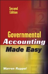Governmental Accounting Made Easy 2nd Edition 9780470411506 0470411503