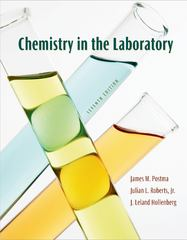 Chemistry in the Laboratory 7th edition 9781429219549 1429219548