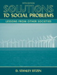 Solutions to Social Problems 5th edition 9780205698349 0205698344