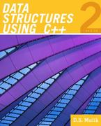 Data Structures Using C++ 2nd edition 9780324782011 0324782012