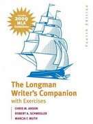 The Longman Writer's Companion with Exercises 4th edition 9780205741809 0205741800