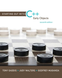 Starting Out with C++ 7th edition 9780136077749 0136077749