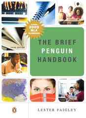 Brief Penguin Handbook, The 3rd Edition 9780205743407 0205743404