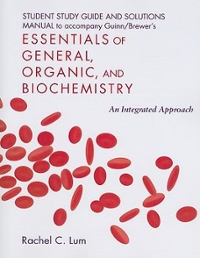 Student Study Guide/Solutions Manual for Essentials of General, Organic, and Biochemistry 1st edition 9781429224321 1429224320