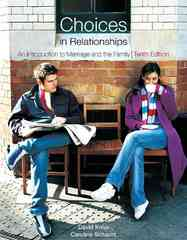 Choices in Relationships 10th edition 9780495808435 0495808431