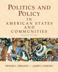 Politics and Policy in American States and Communities 7th edition 9780205745197 0205745199