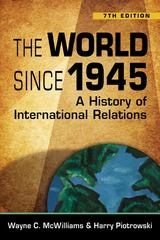 The World Since 1945 7th edition 9781588266620 1588266621