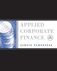 Applied Corporate Finance 3rd Edition 9780470384640 0470384646