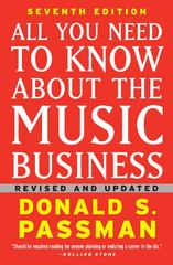 All You Need to Know About the Music Business 7th edition 9781439153017 1439153019