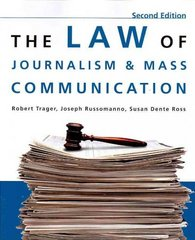 The Law Of Journalism and Mass Communication, 2nd Edition 2nd edition 9780872899230 0872899233