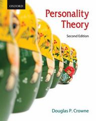 Personality Theory 2nd Edition 9780195430202 0195430204