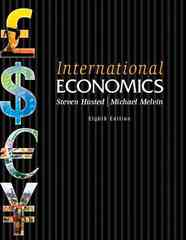 International Economics 8th edition 9780321594563 0321594568