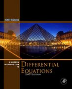 A Modern Introduction to Differential Equations 2nd edition 9780123747464 0123747465