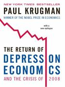 The Return of Depression Economics and the Crisis of 2008 1st Edition 9780393337808 0393337804