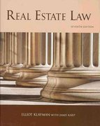 Real Estate Law, 7th Edition 7th Edition 9781427782625 1427782628