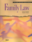 Black Letter Outline on Family Law 4th edition 9780314194480 0314194487