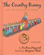 The Country Bunny and the Little Gold Shoes Gift Edition with Charm 70th edition 9780547144184 0547144180