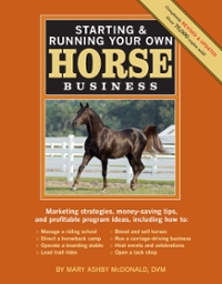 Starting and Running Your Own Horse Business 2nd Edition 9781603424837 1603424830