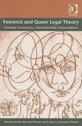 Feminist and Queer Legal Theory 1st Edition 9780754675525 0754675521
