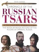 Chronicle of the Russian Tsars 1st Edition 9780500288283 0500288283