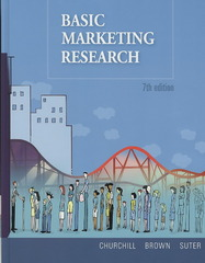 Basic Marketing Research (with Qualtrics Printed Access Card) 7th edition 9781439041390 1439041393