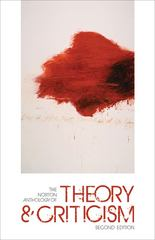 The Norton Anthology of Theory and Criticism 2nd edition 9780393932928 0393932923