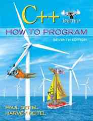 C++ How to Program 7th edition 9780136117261 0136117260