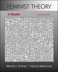 Feminist Theory: A Reader 3rd edition 9780073512266 0073512265