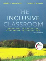 The Inclusive Classroom 4th edition 9780136101277 0136101275