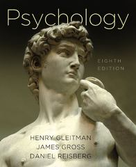 Psychology 8th Edition 9780393932508 0393932508