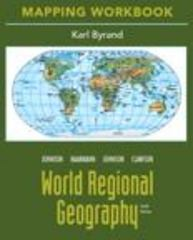 Mapping Workbook for World Regional Geography 10th edition 9780321590107 0321590104