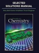 Selected Solutions Manual for Principles of Chemistry 1st edition 9780321586384 0321586387