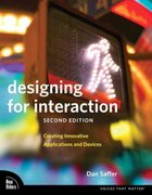 Designing for Interaction 2nd Edition 9780321643391 0321643399