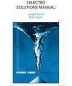 Selected Solutions Manual for General Chemistry 1st edition 9780321560254 0321560256