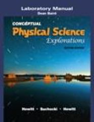 Laboratory Manual for Conceptual Physical Science Explorations 2nd edition 9780321602749 0321602749
