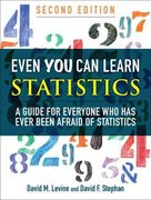 Even You Can Learn Statistics 2nd edition 9780137010592 0137010591