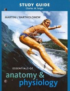 Study Guide for Essentials of Anatomy & Physiology 5th Edition 9780321569806 0321569806