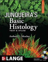 Junqueira's Basic Histology 12th Edition 9780071630207 0071630201